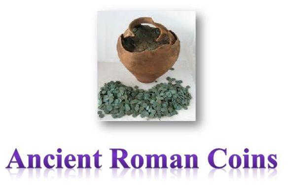 Roman Coins Banner