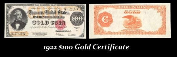 1922GoldCertificate