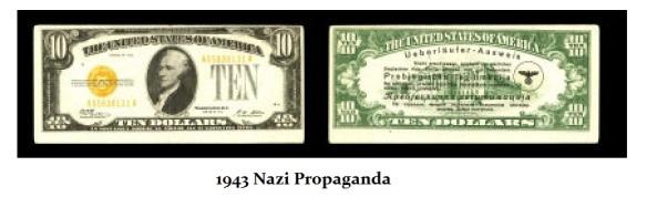 1943 Nazi Propaganda Note