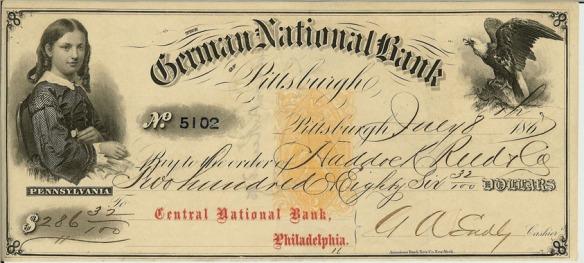 German_National_Bank_BankCheck 1867
