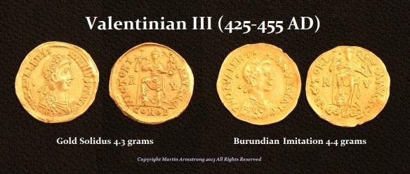 Valentinian III Imitation