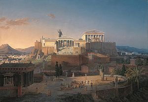 Athen Akropolis_by_Leo_von_Klenze