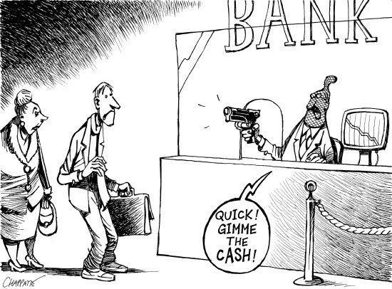 Bank Robs Clients