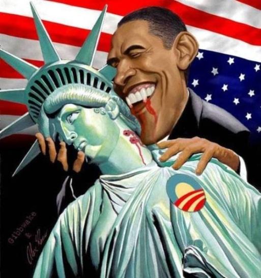 Obama-Vampire