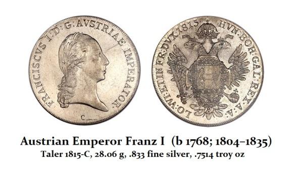 Franz I  (1804-1835)