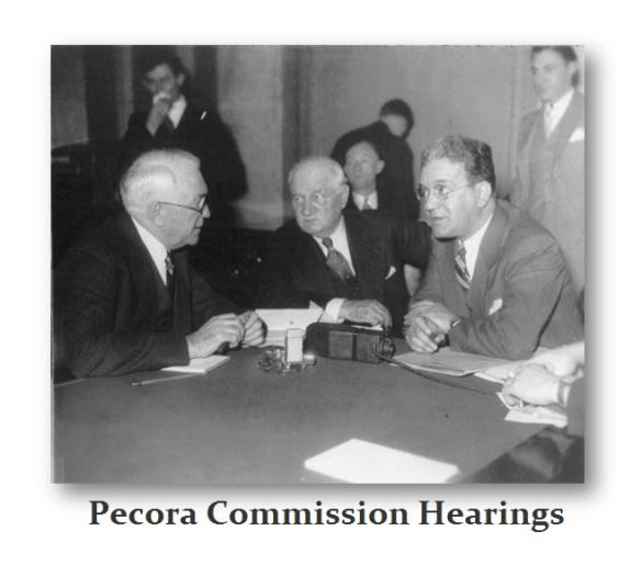 Pecora Commission Hearings